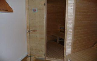 13. Sauna v centrální budově