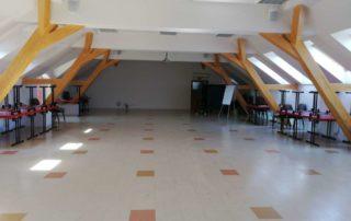 Společenský sál v budově D