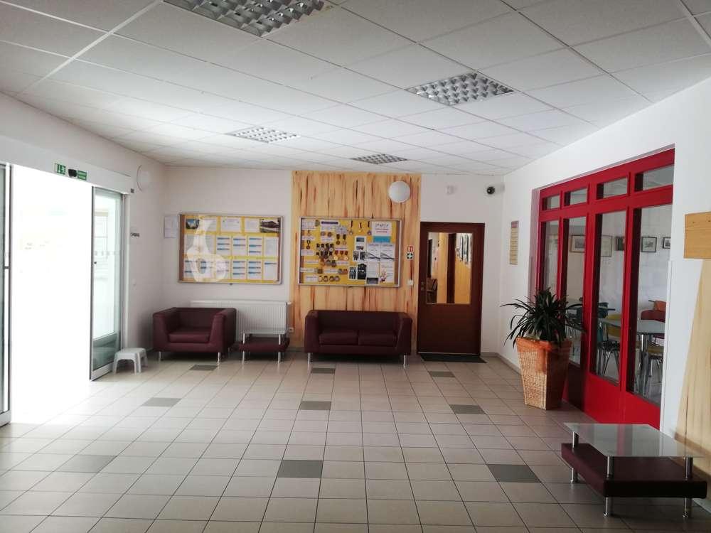 Vestibul v centrální budově E