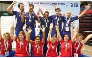 INAS Letní sportovní hry 2018 v Paříži