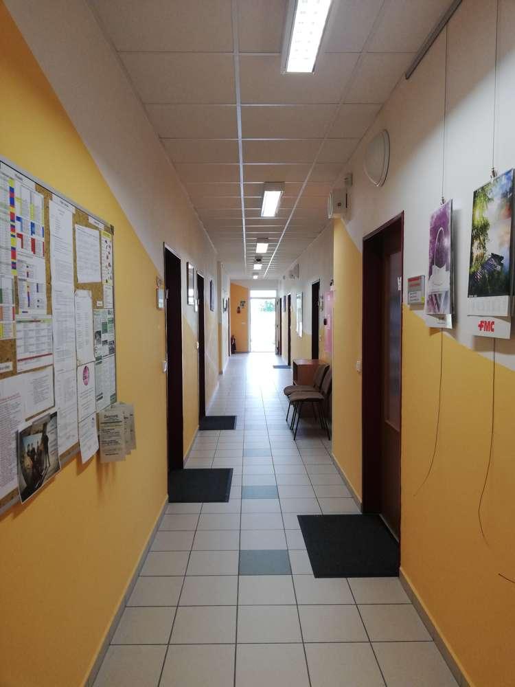 Administrativní úsek v centrální budově E